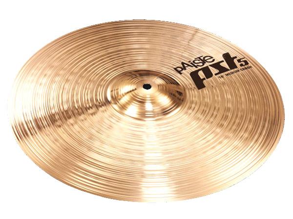 Paiste ( パイステ )  PST-5N MEDIUM CRASH 18【 ミディアムクラッシュ18インチ ドラム シンバル】