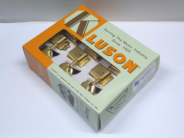 Kluson 6 in line / Metal Buttons / Gold < for Fender ST / TL etc. >