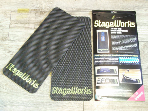 Stage Works Non-Slip Pedal Mat[ノンスリップマット] ◆ 2枚入り