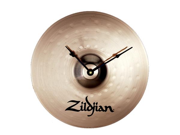Zildjian ( ジルジャン ) シンバルクロック NAZLFCLOCK ☆ ジルジャン壁掛け時計