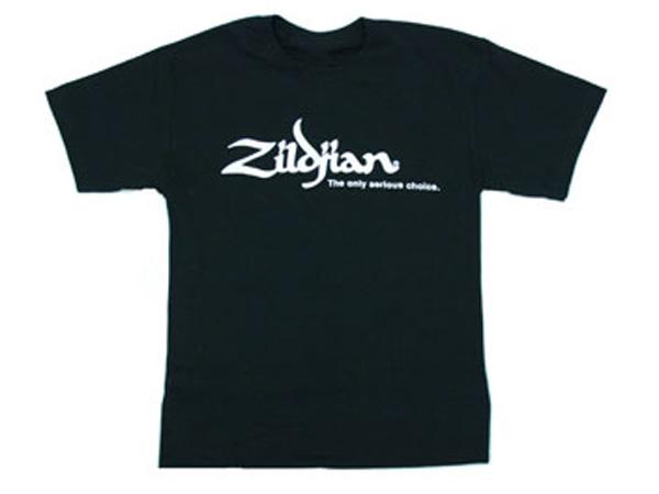 Zildjian ( ジルジャン ) クラシック・ブラック Tシャツ Mサイズ [ NAZLFATSM ]☆ ジルジャンロゴ入り