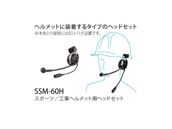 STANDARD HORIZON ( スタンダード ホライゾン 八重洲無線 ) SSM-60H