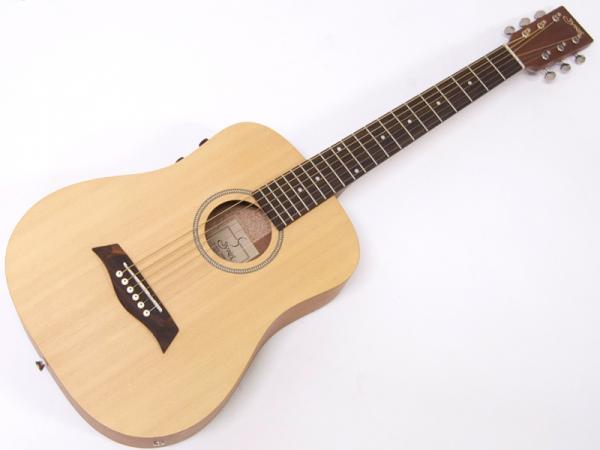 S.Yairi ( エスヤイリ ) YM-02E(NTL) 【コンパクト アコースティックギター ミニアコギ 】