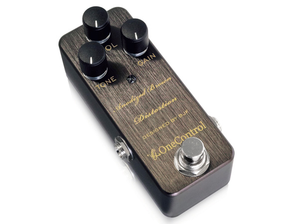 One Control Anodized Brown Distortion ◆ ワンコントロール ディストーション