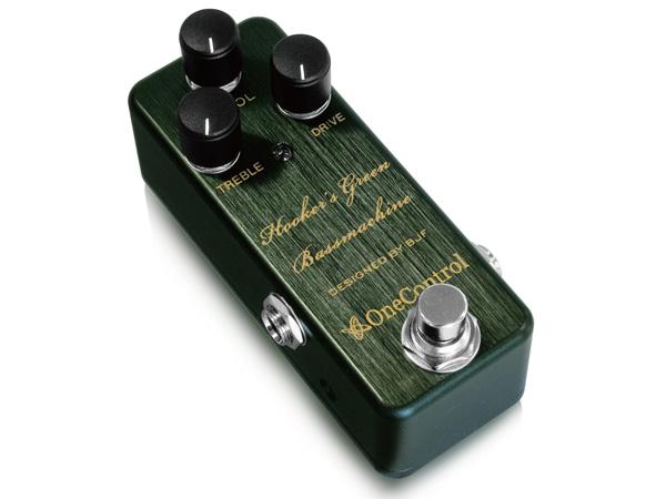 One Control Hooker's Green Bass Machine ◆ ワンコントロール ベースオーバードライブ