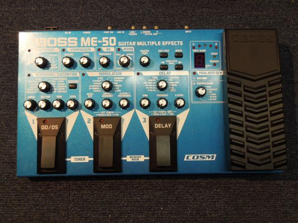 BOSS ( ボス ) ME-50 Guitar Multiple Effects <USED / 中古品>