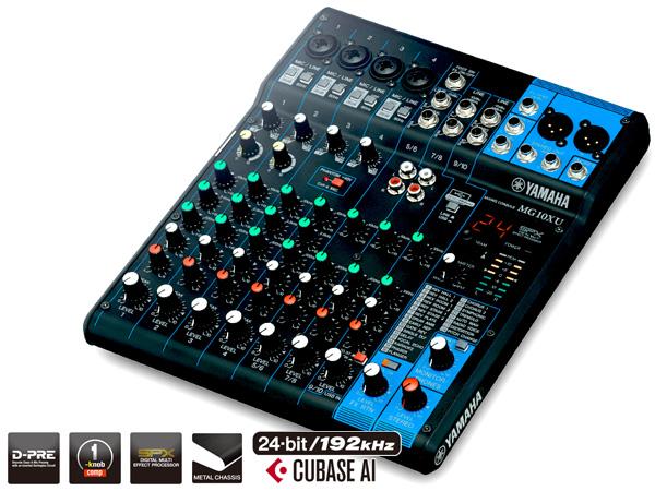 YAMAHA ( ヤマハ ) MG10XU ◆ 10チャンネル ミキサー SPXエフェクト搭載