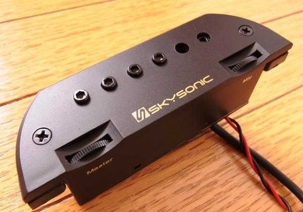 SKYSONIC ( スカイソニック ) NEW T-903 マイク付マグネットピックアップ