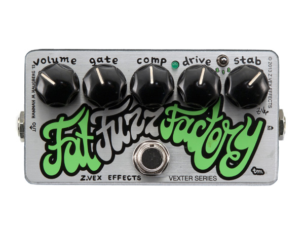 Z.VEX Fat Fuzz Factry [ Vexter Series ] ◆ コンパクトエフェクター FUZZ