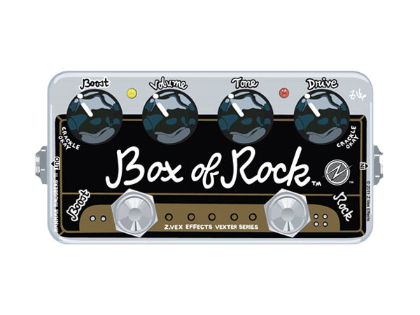 Z.VEX Box of Rock [ Vexter Series ]◆ コンパクトエフェクター ディストーション