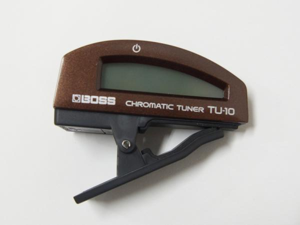BOSS ( ボス ) TU-10 BN 【クリップチューナー 】
