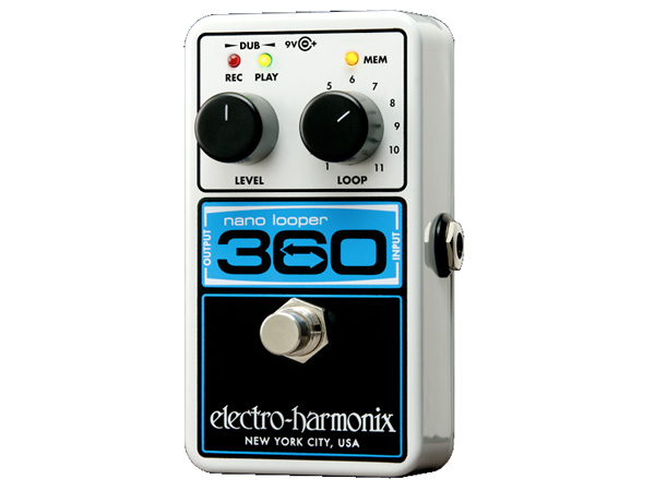 Electro Harmonix ( エレクトロハーモニクス ) Nano Looper 360