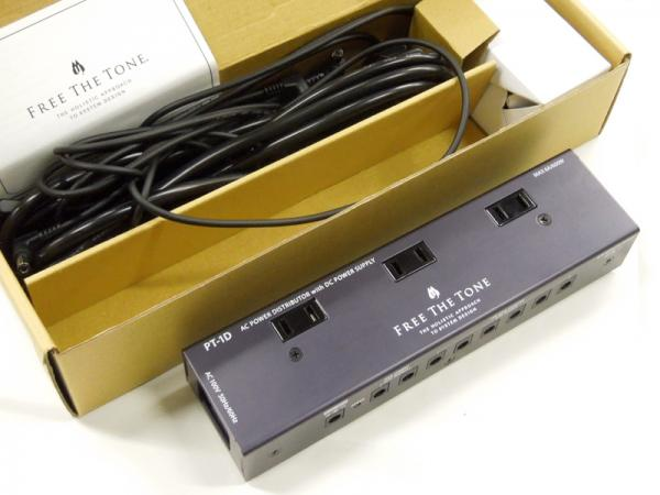 FREE THE TONE PT-1D/ AC POWER DISTRIBUTOR with DC POWER SUPPLY < USED / 中古品 >
