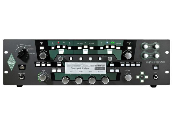 Kemper ( ケンパー ) RACK ◆ PROFILING AMPLIFIER ( プロファイラー・ラック )  ・パワーアンプ非搭載