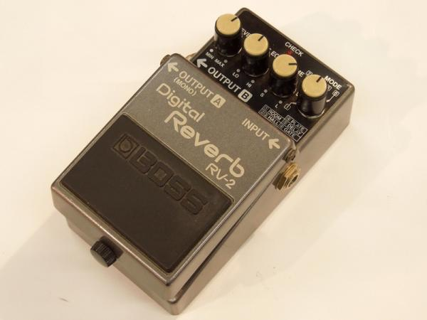 BOSS ( ボス ) RV-2 Digital Reverb/Japan 【1987年製】<USED / 中古品>
