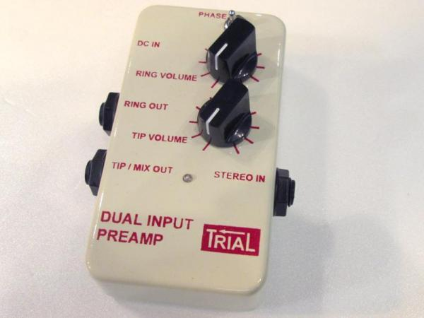 TRIAL ( トライアル ) DUAL INPUT PREAMP