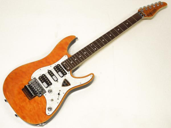 SCHECTER SD-2-24-AL / Amber / Rosewood Fingerboard