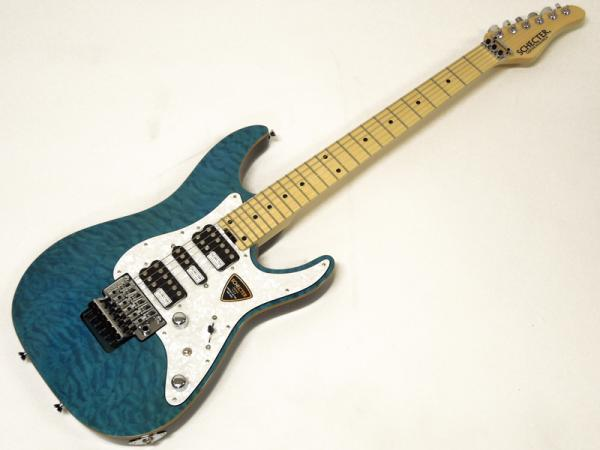 SCHECTER SD-2-24-AL / Aqua Blue / Maple Fingerboard