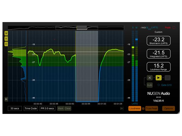 NuGen Audio ( ニュージェン オーディオ ) VisLM-H 2 Loudness Meter