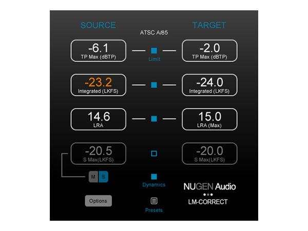 NuGen Audio ( ニュージェン オーディオ ) LM-Correct 2