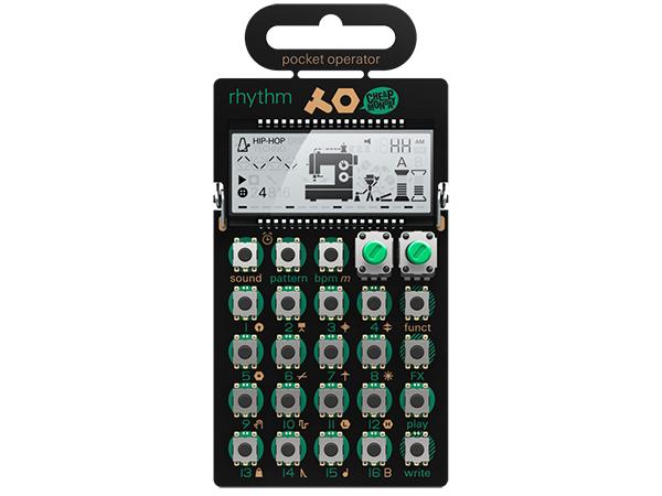 Teenage Engineering ( ティーンエイジ エンジニアリング ) PO-12 rhythm ◆ pocket operator
