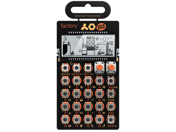 Teenage Engineering ( ティーンエイジ エンジニアリング ) PO-16 factroy ◆ pocket operator