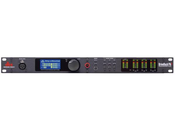DBX ( ディービーエックス ) DriveRack PA2 ◆ 音響出力系マルチプロセッサー