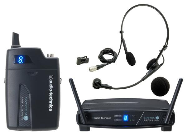 audio-technica ( オーディオテクニカ ) ATW-1101/H 【 アウトレット特価品 】 < ヘッドウォーンマイク・デジタル2.4GHz・ワイヤレスシステム >