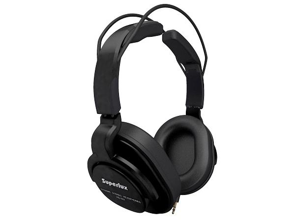 Superlux ( スーパーラックス ) HD661 BLACK ◆ 密閉ダイナミック型ヘッドホン
