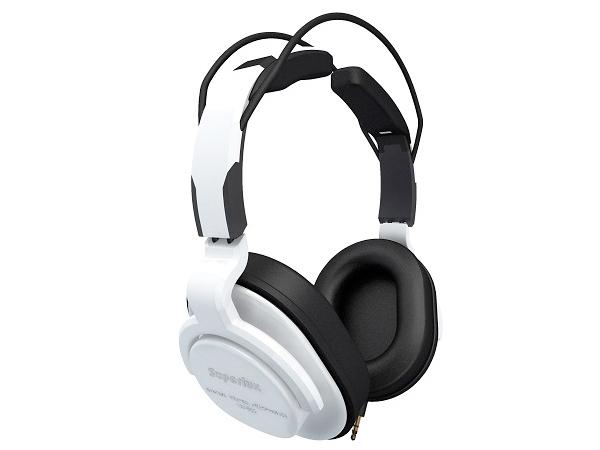 Superlux ( スーパーラックス ) HD661 WHITE ◆ 密閉ダイナミック型ヘッドホン