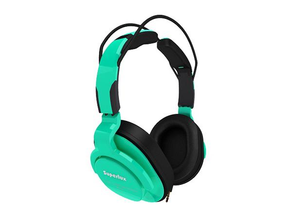 Superlux ( スーパーラックス ) HD661 GREEN ◆ 密閉ダイナミック型ヘッドホン