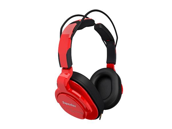 Superlux ( スーパーラックス ) HD661 RED ◆ 密閉ダイナミック型ヘッドホン