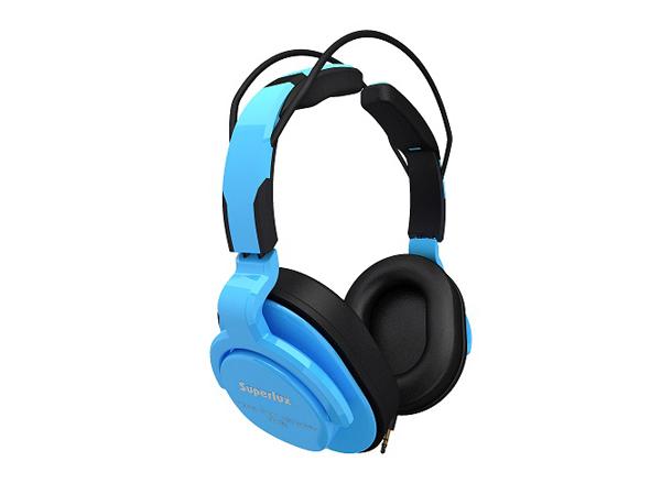 Superlux ( スーパーラックス ) HD661 BLUE ◆ 密閉ダイナミック型ヘッドホン