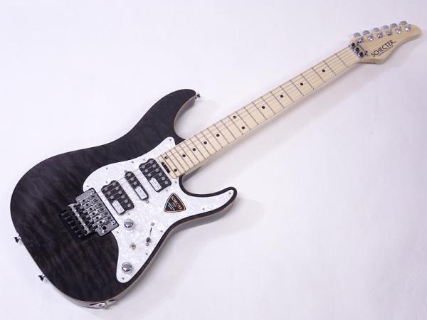 SCHECTER ( シェクター ) SD-2-24-AL / See-Thru Black / Maple Fingerboard