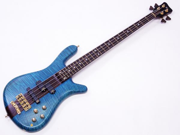 Warwick ( ワーウィック ) Custom Shop Streamer Stage I 4st / Turquoise Blue OFC & Yellow LED