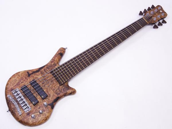 Warwick ( ワーウィック ) Custom Shop Thumb Bass BO 7st Golden Madrone Top-Bubinga Back / Natural Oil Finish