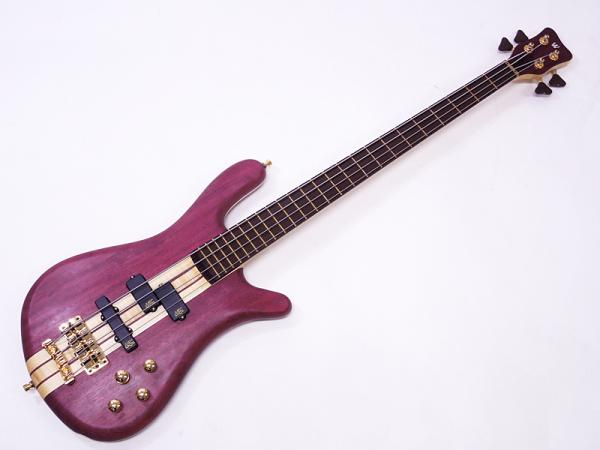 Warwick ( ワーウィック ) Custom Shop Streamer Stage I 4st Custom Purple Heart-Maple / Natural Oil Finish
