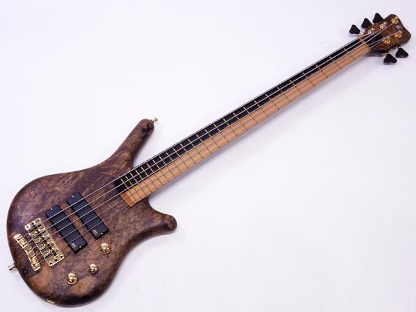 Warwick ( ワーウィック ) Custom Shop Thumb Bass NT 5st / Black Walnut Burl Top & Sap Eboney Fingerboard