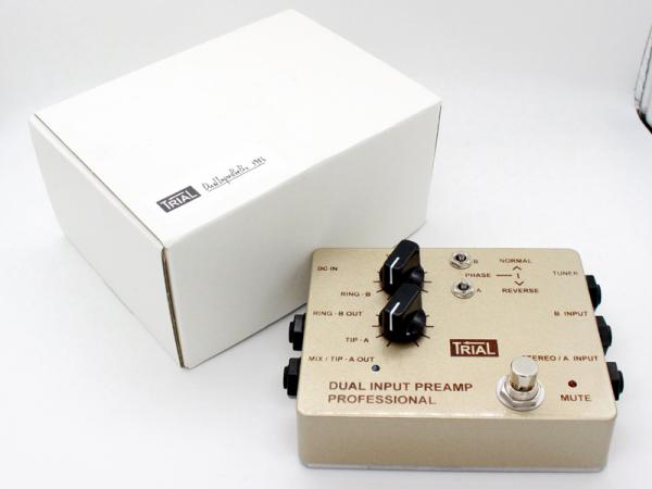 TRIAL ( トライアル ) DUAL INPUT PREAMP PROFFESIONAL