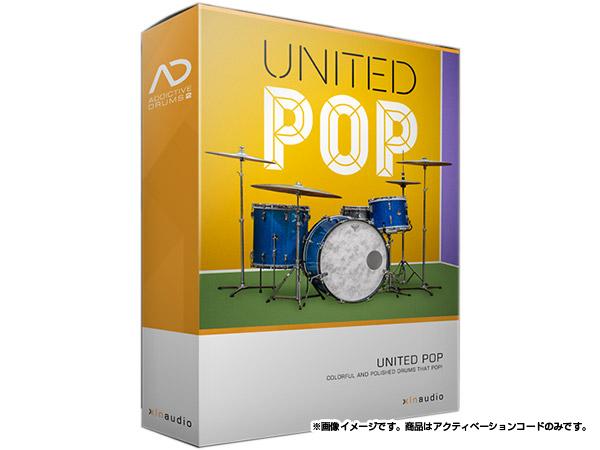 xlnaudio ( エクスエルエヌ オーディオ ) Addictive Drums 2:  UNITED POP ◆【ADpak】【ダウンロードコード商品】