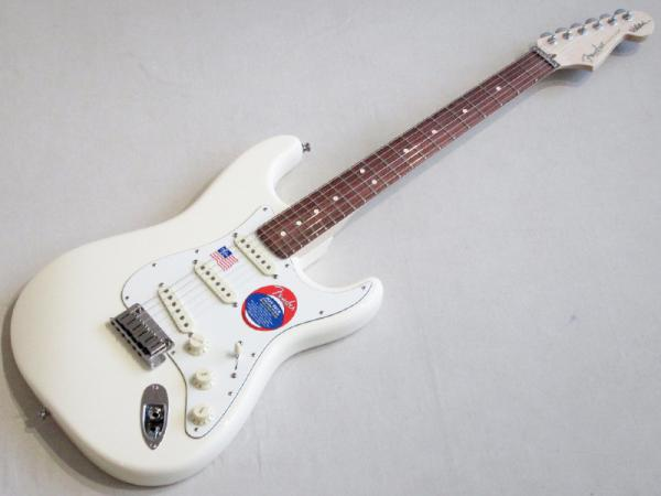 Fender ( フェンダー ) Jeff Beck Stratocaster Olympic White 【USA ジェフ・ベック ストラトキャスター  】