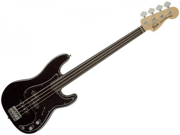 Fender ( フェンダー ) Tony Franklin Fretless Precision Bass (Black)【USA トニー・フランクリン フレットレス プレベ 】
