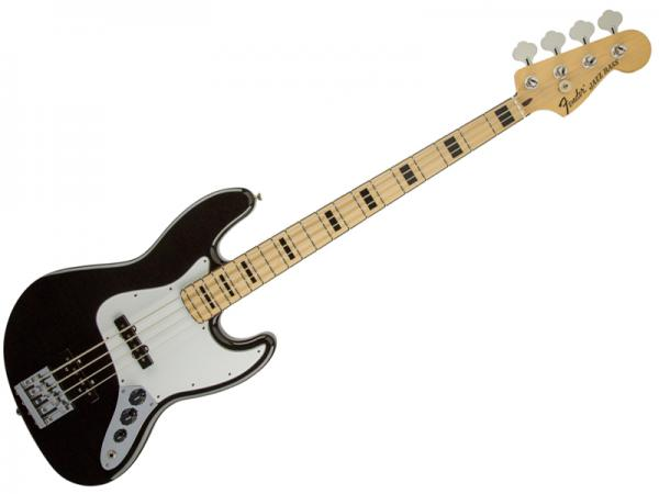 FENDER Geddy Lee Jazz Bass(BLK/M)【ゲディ」・リー ジャズベース Rush  Mex 】