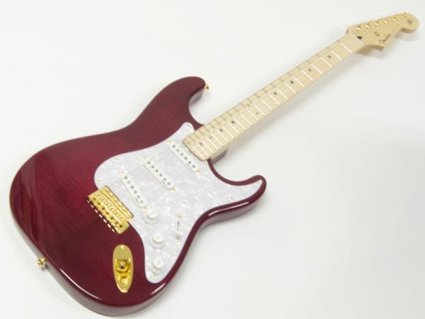 Fender ( フェンダー ) Ritchie Kotzen Strat SSS(Transparent Red Burst) 【国産 リッチー・コッツェン ストラトキャスター 】