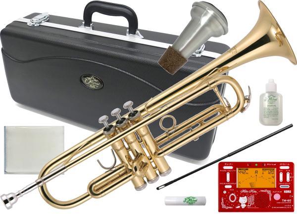 J Michael ( Jマイケル ) TR-200 トランペット 新品 ゴールド 初心者 管楽器 B♭ 本体 Trumpet TM-60-SKT キティ セット Hello Kitty 北海道 沖縄 離島不可
