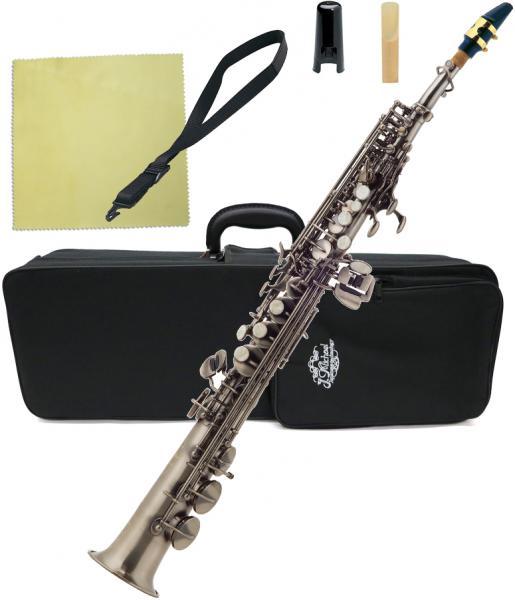 J Michael ( Jマイケル ) SP-820GM ソプラノサックス アウトレット 新品 ガンメタリック デタッチャブル ストレート soprano saxophone SP820GM 北海道 沖縄 離島不可