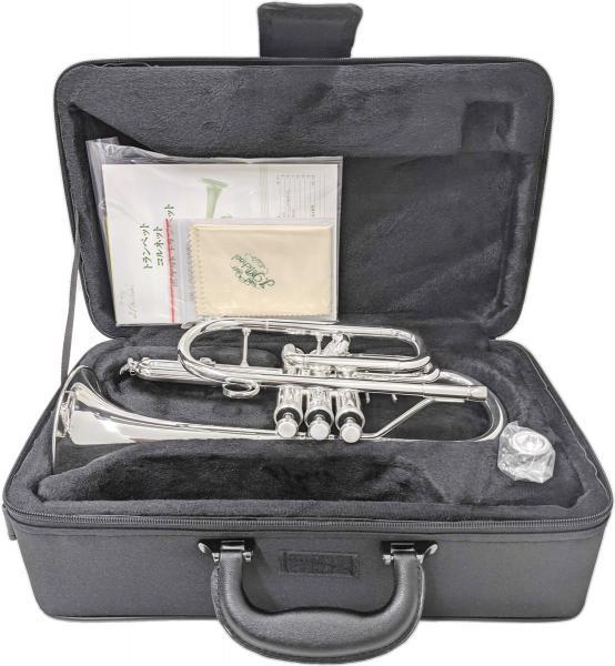 J Michael ( Jマイケル ) CT-470S コルネット 新品 アウトレット 銀メッキ 管体 管楽器 ショートコルネット 本体 シルバーメッキ