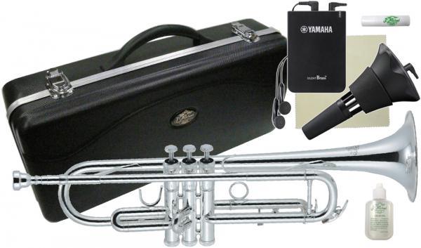 J Michael ( Jマイケル ) TR-300S トランペット 銀メッキ ヤマハサイレントブラス SB7X 管楽器 B♭ trumpet 本体 セット F 北海道 沖縄 離島 代引き 同梱不可