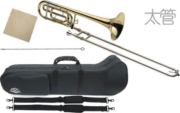 J Michael ( Jマイケル ) 送料無料 テナーバストロンボーン 太管 TB-650L 新品 B♭/F トロンボーン 楽器 本体 初心者 管楽器 【 TB650L アウトレット 】