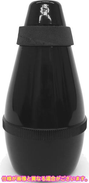J Michael ( Jマイケル ) トランペット用 サイレンサー 音を小さく サイレント ミュート コルネット 練習用ミュート プラスチック製 ブラック 弱音器 【 MTR-P2 】